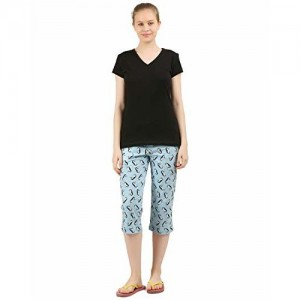 Clifton Women Penguin Printed Capri Sets