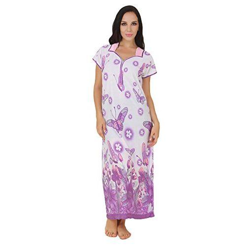 Fasense Exclusive Women Cotton Nightwear Long Nighty, DP150