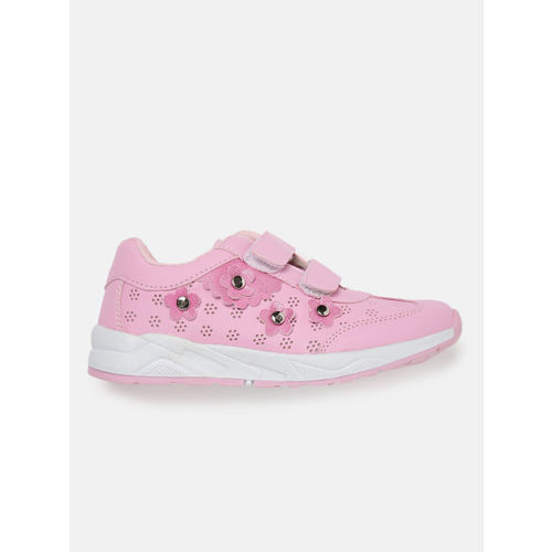 YK Girls Pink Sneakers