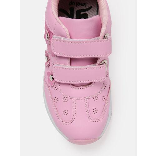 YK Girls Pink Sneakers