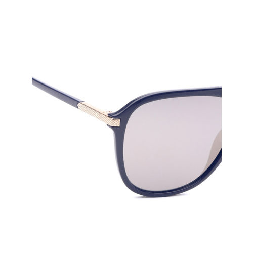 Polaroid Unisex Rectangle Mirrored Sunglasses 2070/S/X PJP 58LM