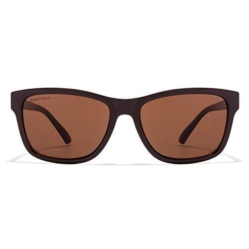 Fastrack Brown Plastic Square Sunglasses