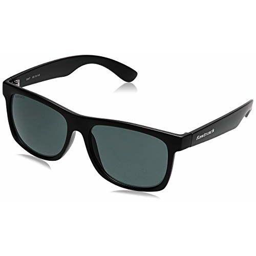 Fastrack UV Protected Green Wayfarer Sunglasses