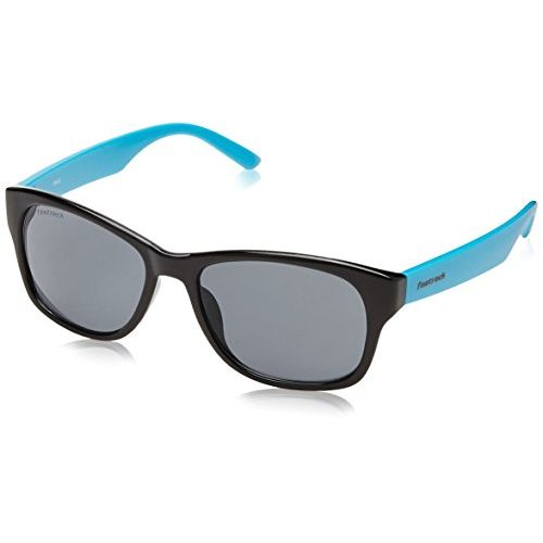 Fastrack Unisex PC Plastic Sunglass, Blue - PC001BK3