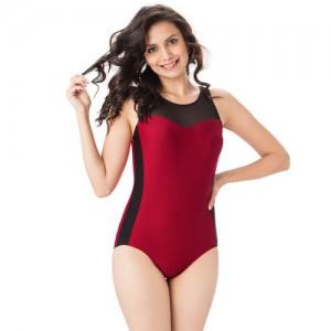 PrettySecrets Women Maroon One-Piece Swim Suit
