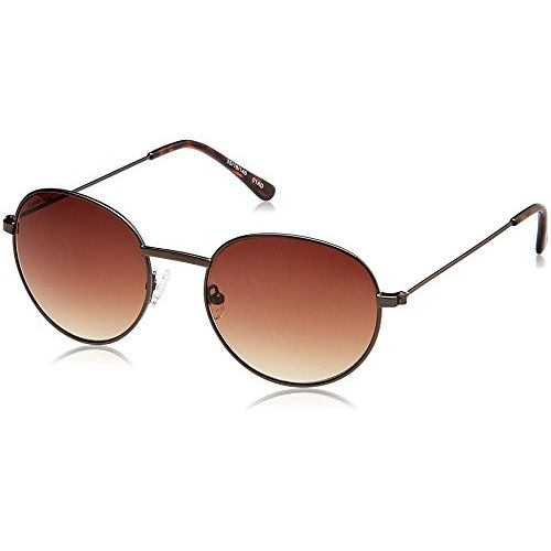 Fastrack Gradient Oval Men's Sunglasses - (M158BR1|Brown Color)