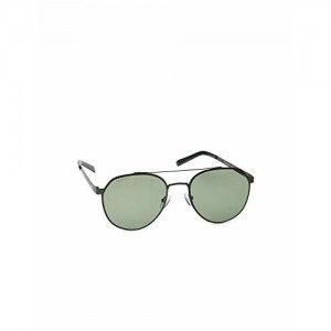 Fastrack UV Protected Round Men's Sunglasses - (M202GR3|55|Green Color Lens)