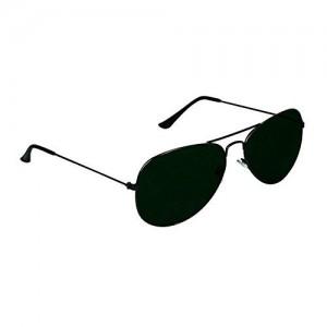 3857454672ed generic mens womens sunglasses >> Rex UV Protected Jet Black Aviator  Sunglasses for Men Women