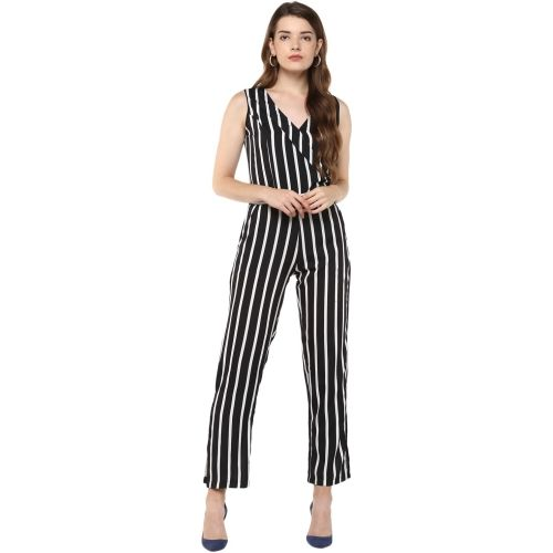 D'amor Striped Women's Jumpsuit