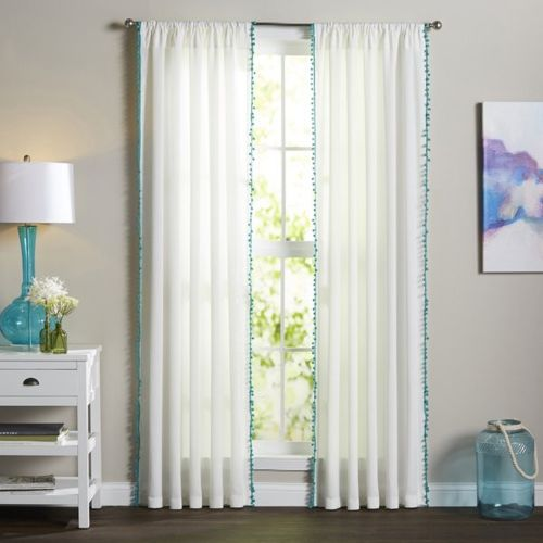 Dekor World 225 cm (7 ft) Cotton Door Curtain (Pack Of 2)