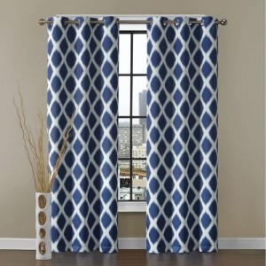 Dekor World 275 cm (9 ft) Cotton Long Door Curtain (Pack Of 2)