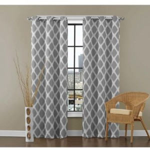 Dekor World 150 cm (5 ft) Cotton Window Curtain (Pack Of 2)