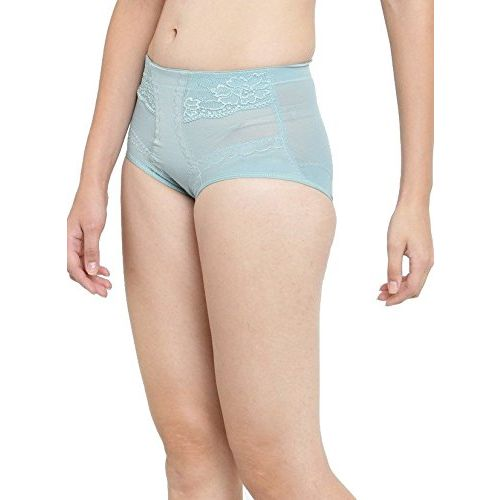 N-Gal Seamless Body Sculpting Tummy Control & Butt Lifting Midwaist Blue Brief Shapewear