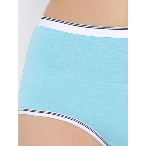 Clovia Women Blue Solid Hipster Briefs PN2720P47XL
