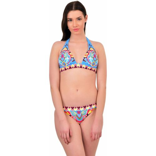 N-Gal Paisley Push up Halter Bikini Set Printed Women's Swimsuit
