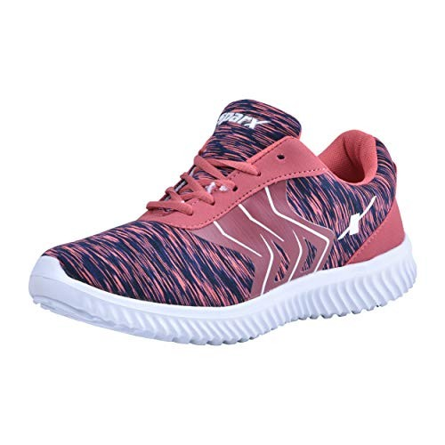 Sparx Pink-Navy Blue Sports Shoes