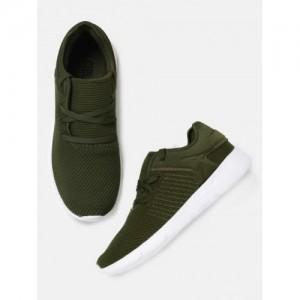 1f76056bc8d2 Buy Supra Men Olive Green NOIZ Leather Sneakers online