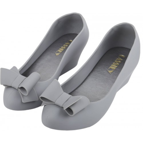 IRSOE Grey Synthentic Casual Bellies