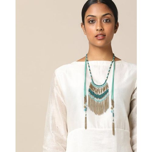 3c07f1312d9fea Buy Project Eve Multi-Layered Beaded Long Necklace online   Looksgud.in