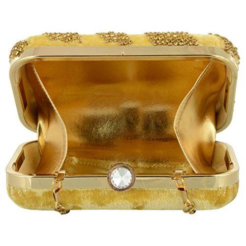 Tooba Handcrafted GT6 Women's Potli (Golden)