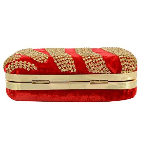 Tooba Handcrafted RT6 Women's Potli (Red)