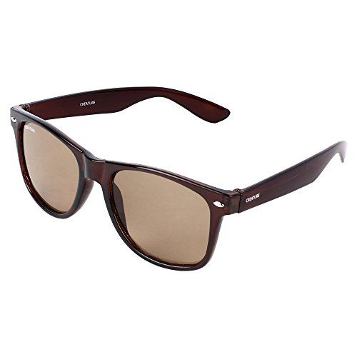 Creature Brown & Multicolour Wayfarer Sunglasses Combo with UV Protection (Lens-Brown & Multicolour  Frame-Black  SUN-002-026)