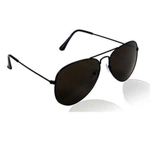 Younky Combo Of Uv Protected Aviator Silver Mercury Sunglasses For Men Women Boys & Girls ( Blkblk-Gldnstickslvrmrcy 55 Silver ) - 2 Sunglass Case