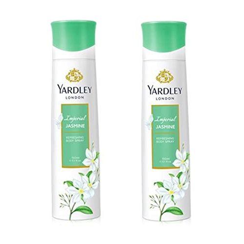 Yardley London Jasmine Deodorant For Women 150-ML (Pack of 2)