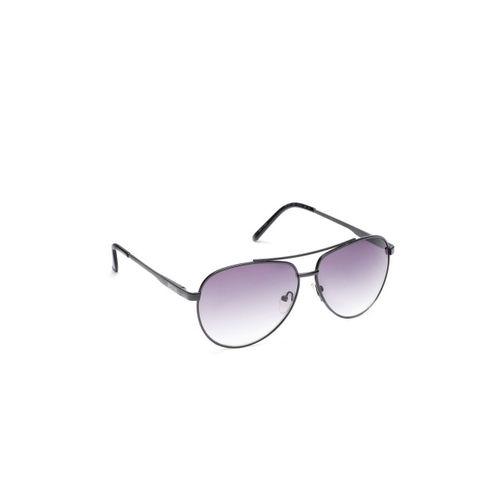 525a9d4ae5 Buy Kenneth Cole Unisex Grey Aviator Sunglasses KC1247 61 02B online ...