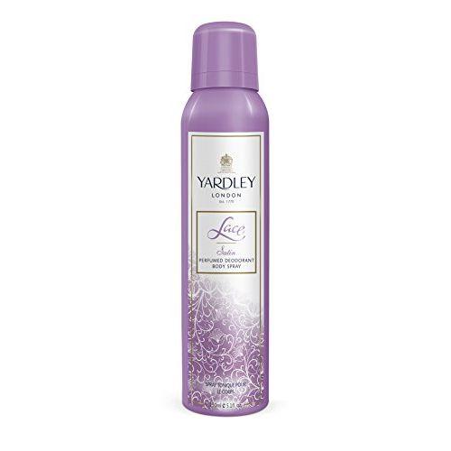 Yardley Lace Satin Perfumed Deodorant Body Spray, 150ml