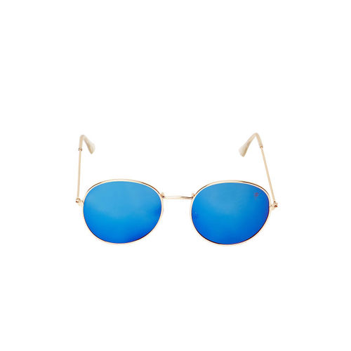VAST Unisex Blue Round Sunglasses 3447_C1