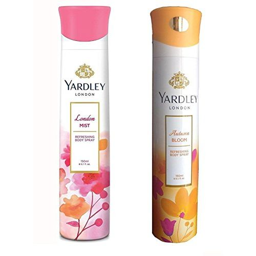 Yardley London Mist Deodorant And Autumn bloom For Women (150-ML)