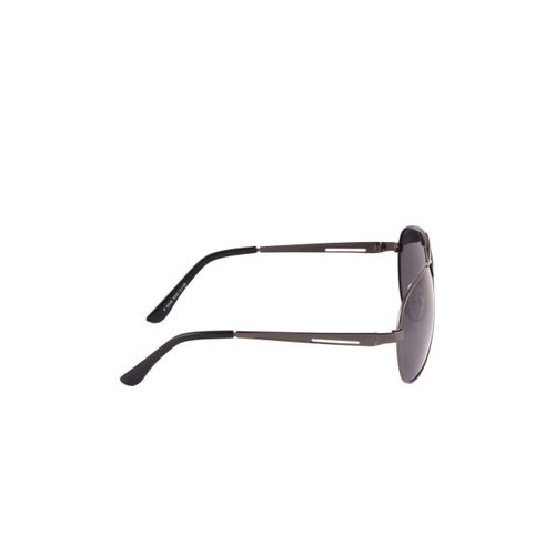 6by6 Unisex Black Aviator Sunglasses