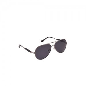 6by6 Unisex Black Aviator Sunglasses
