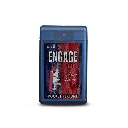 Engage On Men Classic Woody Pocket Perfume