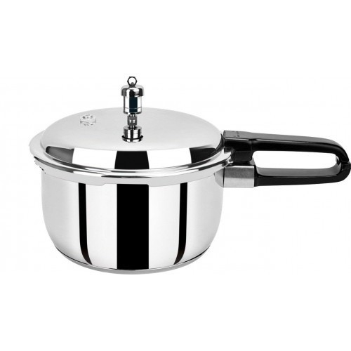 Pristine Induction Base Stainless Steel Pressure Cooker