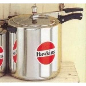 Hawkins HA22L Aluminum Classic Pressure Cooker, 22-Liter