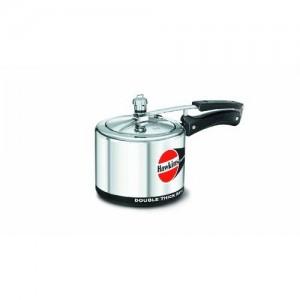 Hawkins H30 Hevibase Aluminum Pressure Cooker, 3-Liter