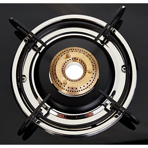 Prestige Marvel Glass 3 Burner Gas Stove (Black)