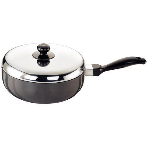 Hawkins Futura Stir Fry Pan 22 cm diameter with Lid(Aluminium, Non-stick)