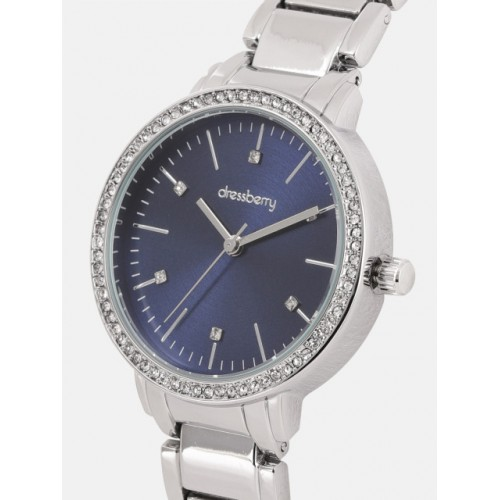 DressBerry Women Navy Blue Analogue Watch MFB-PN-WTH-6263L