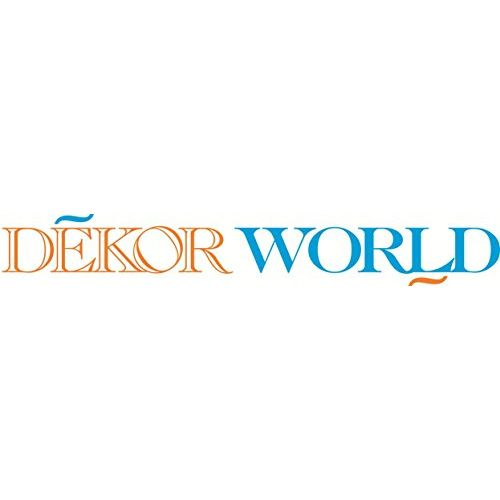 Dekor World Cotton Aqua Printed with Voil Sheer Eyelet Curtain Set (Pack of 3)