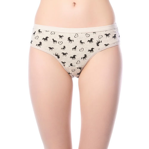 Lady Lyka Women Pack of 3 Printed Briefs FIRE-FOX-13