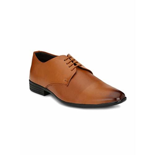 Levanse Men's Tan Formal Wear Office Shoes