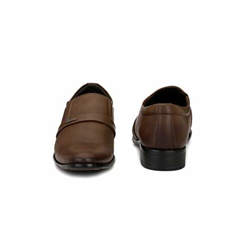 Levanse Men's Synthetic Leather Brown Shoes