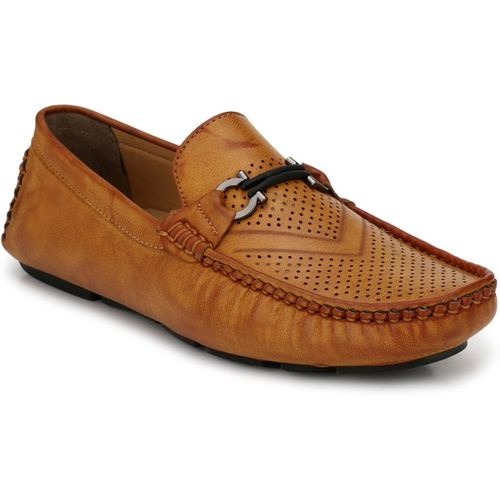 Levanse New Leather Formal Shoes for Men's and Boys Best for School College Partyware Office Use in Color (Tan)