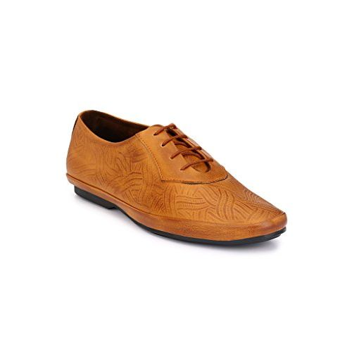 Levanse New Monk Track Leather Matte Brown Formal Shoes for Men/Boys.