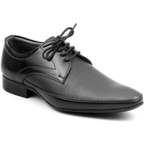 Levanse High quality formal shoes Lace Up For Men(Black)
