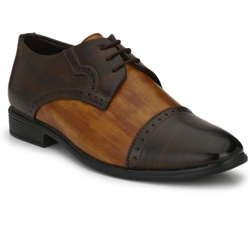 Levanse Office formal shoes Oxford For Men(Brown, Tan)