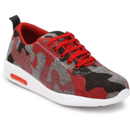 Levanse Mens Sports Footwear Running Shoes For Men(Red)